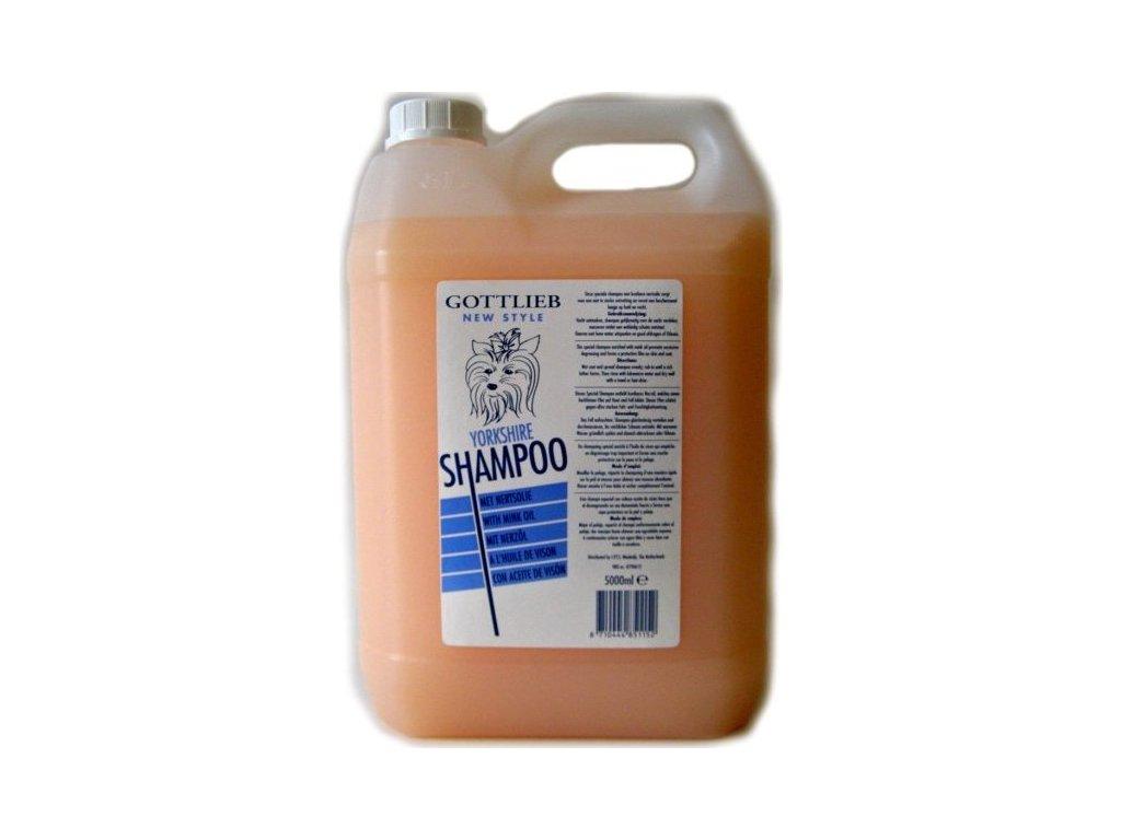 Gottlieb Yorkshire šampon 5 l - s makadamovým olejem