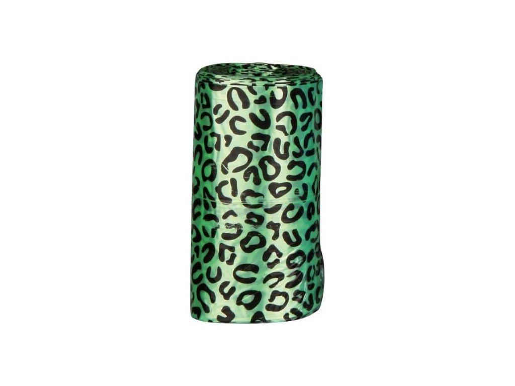 Náhradní sáčky na trus L (4 role á 20ks barevné vzor gepard)