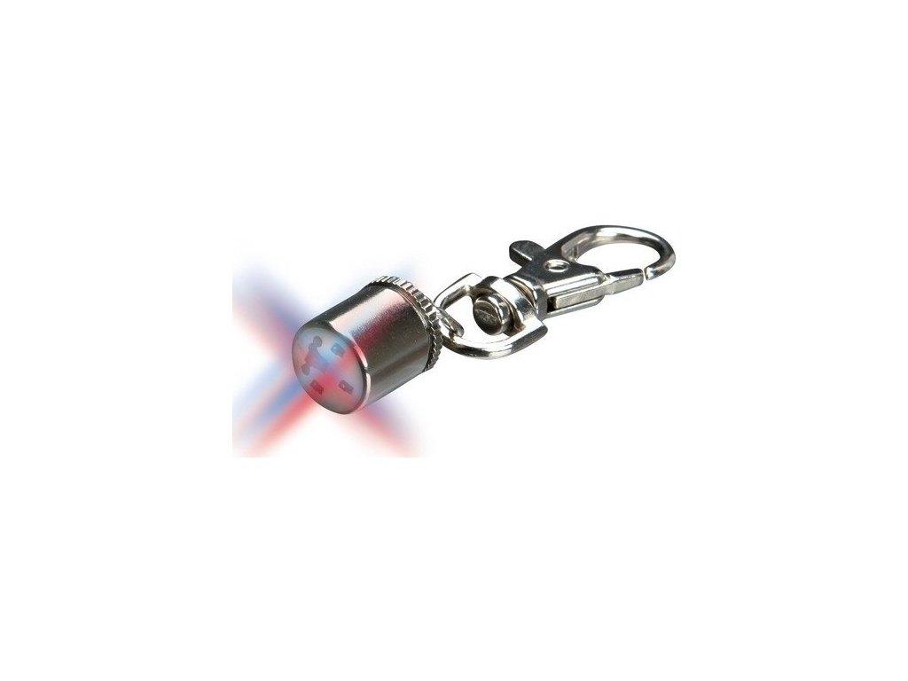 Flasher blikací svítítko 1cm, chromové (na 300m) TRIXIE