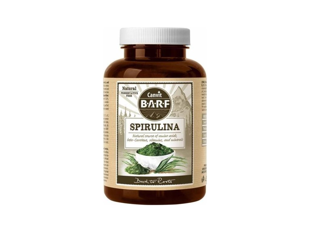 Canvit Natural Line Spirulina plv 150 g
