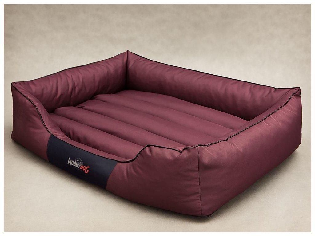 Pelíšek pro psa Comfort - bordó XXL 110 x 90 cm