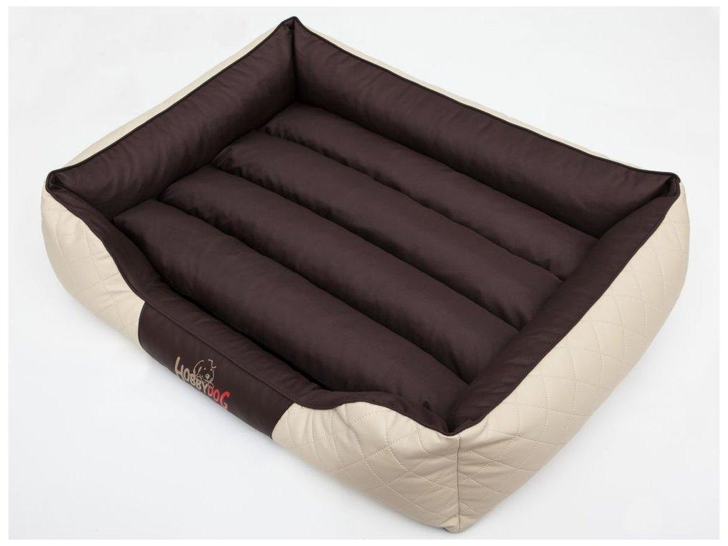 Pelíšek pro psa Cesar Standard - kombinace hnědá, béžová XXL 114 x 84 cm