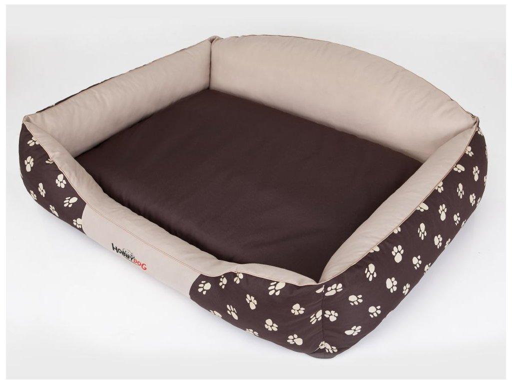 Pelíšek pro psa Royal - béžová koruna XL 84 x 65 cm