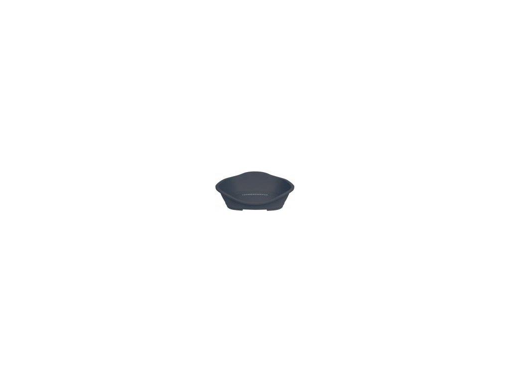 Trixie Plastový pelech č. 5 s větráním 78/96 cm tmavě šedý
