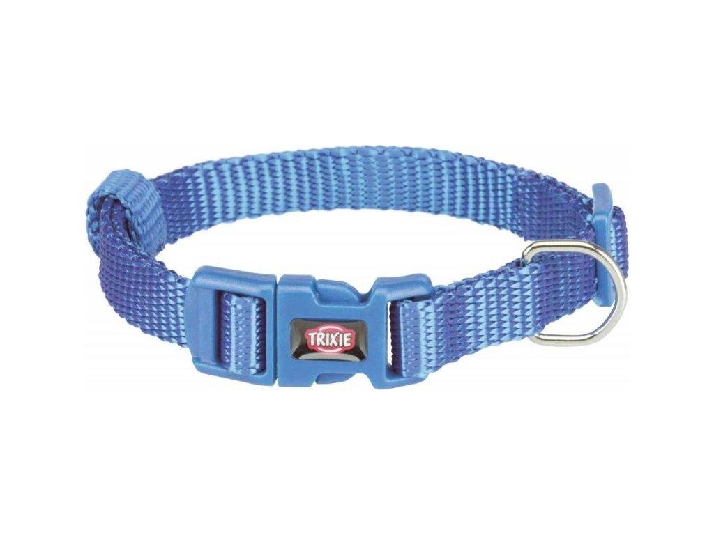 Obojek PREMIUM 40-65 cm/25 mm (L-XL) - modrý