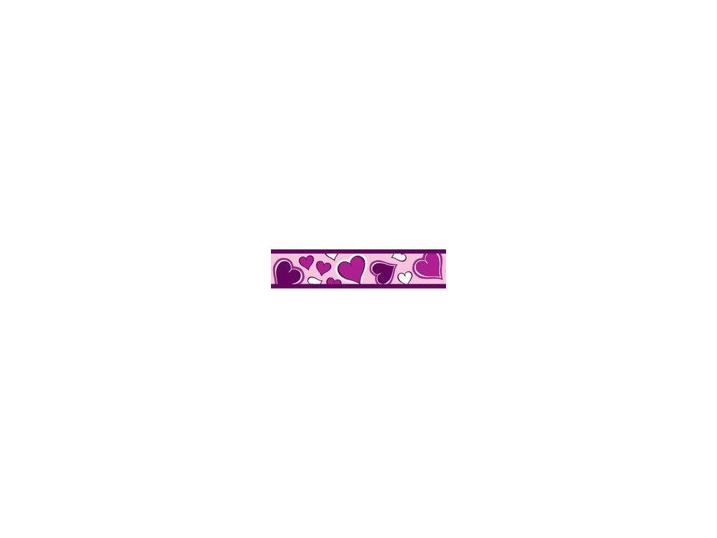 RedDingo Vodítko přepínací Breezy Love Purple 20 mm x 2 m - fialová