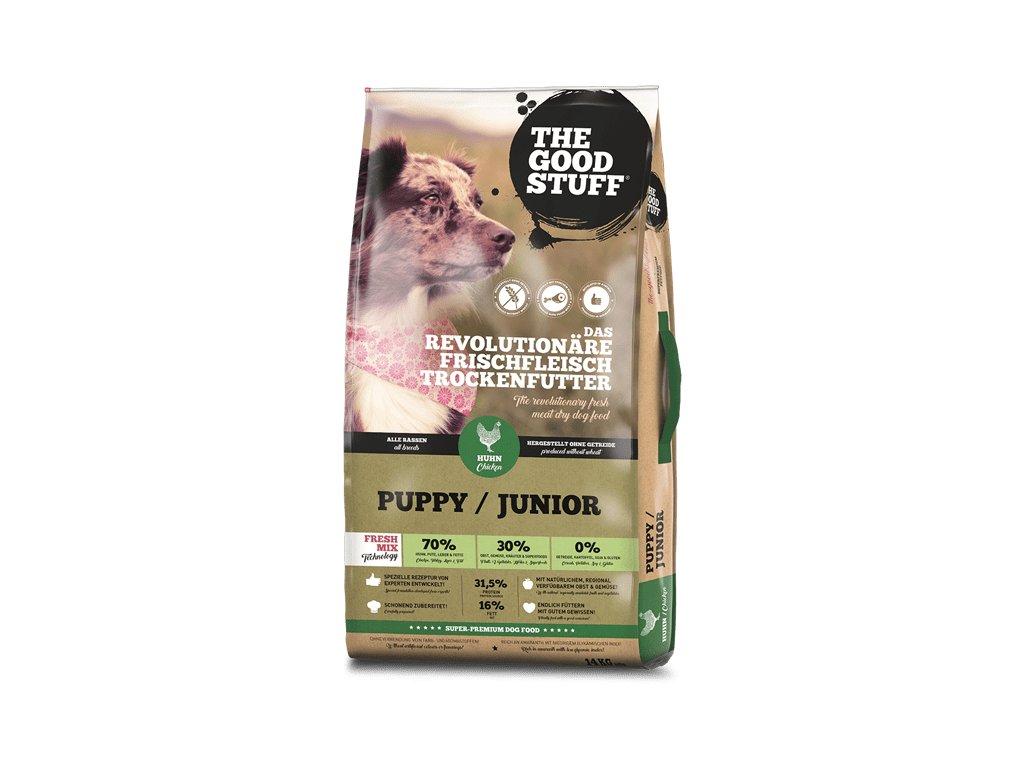 goodstuff puppy junior chicken turkey