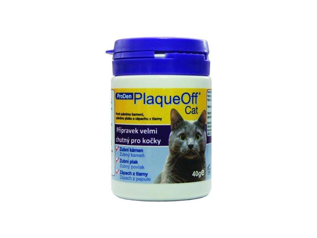 PlaqueOff™ Powder Cat 40g - pro kočky