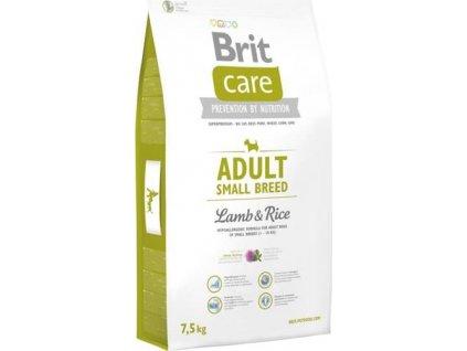 Brit Care Dog Adult Small Breed Lamb & Rice NOVÝ 7,5 kg