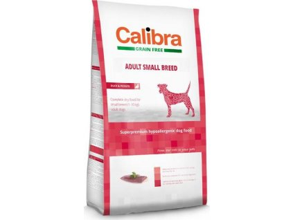 Calibra Dog GF Adult Small Breed Duck NOVÝ 7 kg