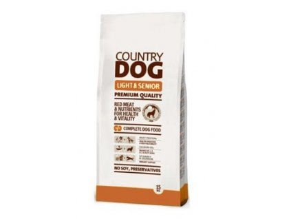Country Dog Light Senior 15kg