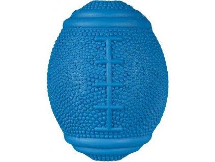 Rugby snack míč na pamlsky přírodní guma 10 cm