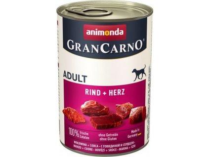 GRANCARNO Adult -  hovězí ,  srdce 400g