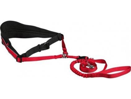 Pás na běh s nylonovým vodítkem pro střední a větší psy