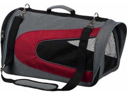 ALINA bag, nylonová přepravní taška se síťkou 27x27x52 cm - šed