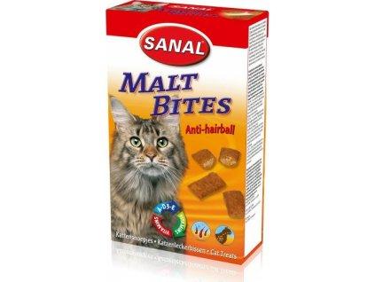 SANAL Maltbits - Anti-hairball proti bezoárům 75 g