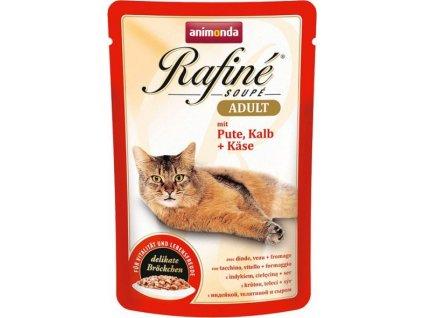 ANIMONDA kapsa Rafiné Soupé Adult - krůta+telecí+sýr 100g