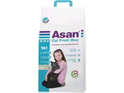 Podestýlka cat Asan - Fresh Blue 10 l
