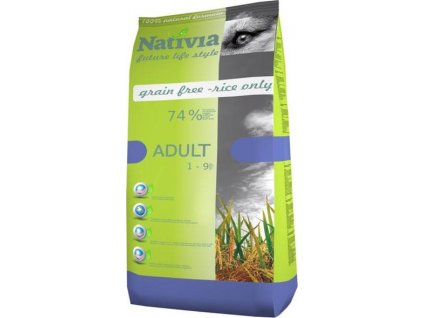 Nativia Dog Adult Chicken & Rice 15 kg