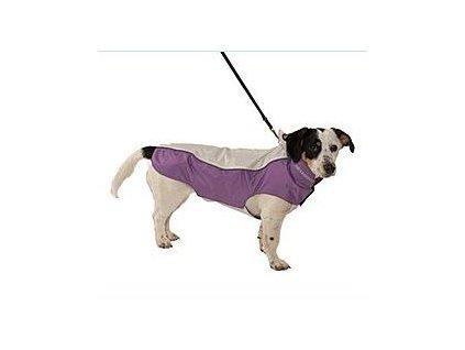 Obleček Raincoat Béžová/Fialová 32cm S KRUUSE