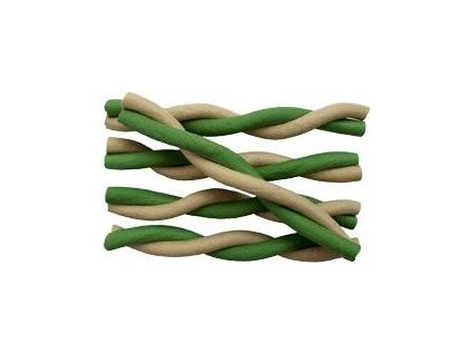 "Magnum Twisted Stick 5""  green / white 50ks"