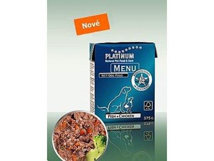 Platinum Menu Fisch+Chicken 375g