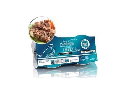 Platinum Menu Mini Pure Fish 4x100g