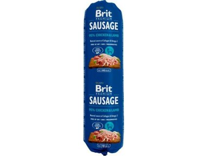 Brit salám Sausage Chicken & Lamb 800 g