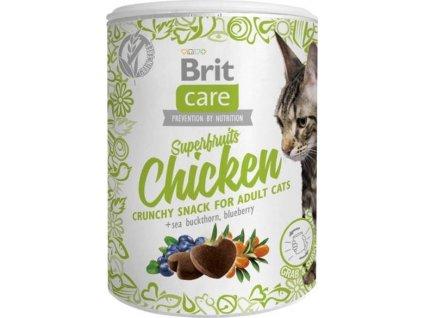 Brit Care Cat Snack Superfruits Chicken 100 g