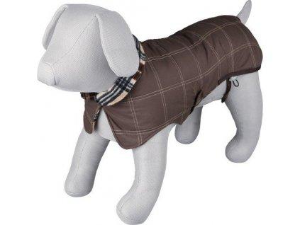 :Kabátek AQUILA hnědý, prošívaný XL 70cm DOPRODEJ