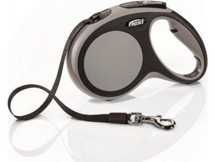 Flexi New Comfort M pásek 5 m, max. 25 kg - šedá