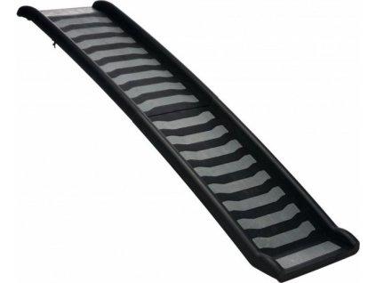Skládací rampa, plastová 39 x 160 cm černo/šedá