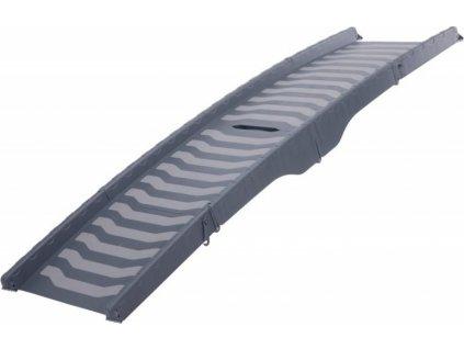 Rampa,protiskluz, skládací 3 díly, šetří místo 39x150cm šedá
