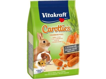 Vitakraft Rodent Rabbit poch. Carotties 50g