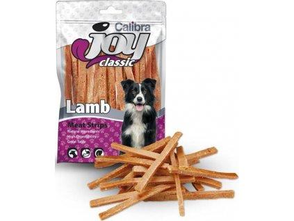 Calibra Joy Dog Classic Lamb Strips 80g NEW
