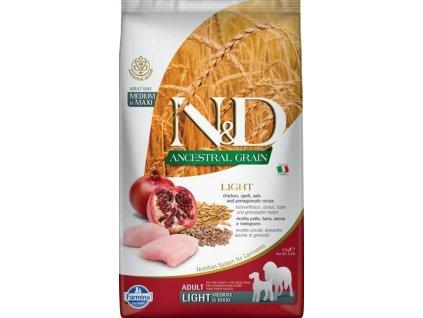 N&D LG DOG Adult M/L Chicken & Pomegranate 2,5kg
