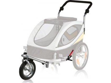 Přední kolo a držadlo k vozíku 24606, konverze na běhání