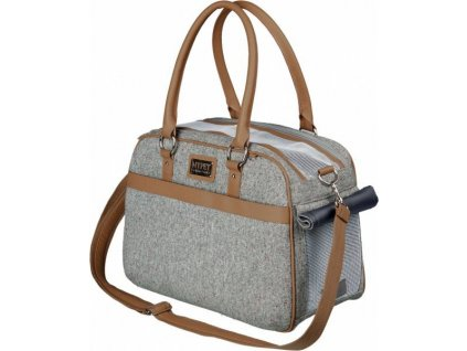 Přepravní taška HELEN 19 x 28 x 40 cm šedá