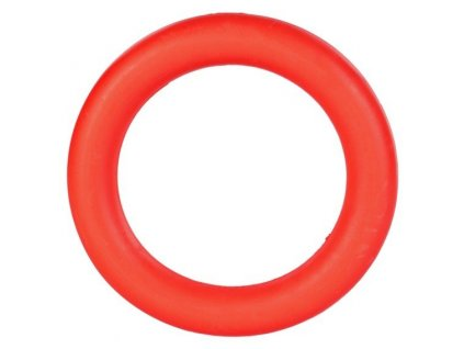 TRIXIE Kroužek plný, tvrdá guma, velký 15cm