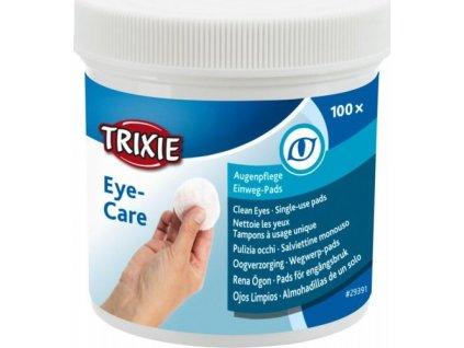 Oční péče - jednorázové pečující polštářky, 100ks