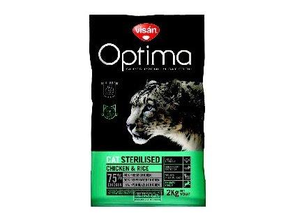 Visán OPTIMA nova CAT STERILISED 2kg