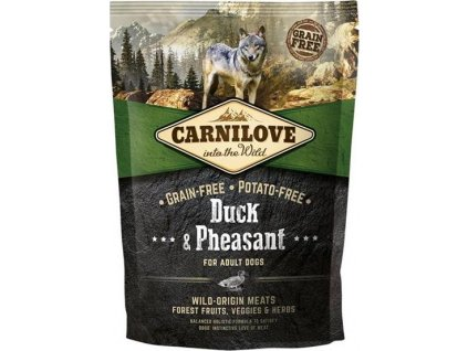 Carnilove Dog Adult Duck & Pheasant Grain Free 1,5 kg