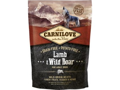 Carnilove Dog Adult Lamb & Wild Boar Grain Free 1,5 kg