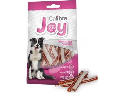 Calibra Dog Joy Chicken & Fish Sandwich 80 g