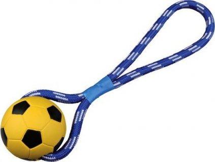 Vrhací míč tvrdá guma na šňůře 8cm/35 cm TRIXIE