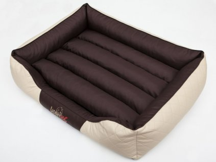 Pelíšek pro psa Cesar Standard - kombinace hnědá, béžová XL 95 x 73 cm