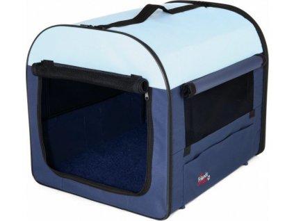 Přepravka Tcamp  nylon 40x40x55cm Modrá/Béžová 1ks