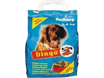 Dingo suchary STANDARD přírodní 2,5 Kg