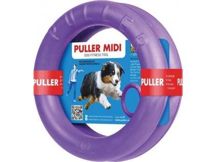 Hračka pěn. Guma Kruh Midi Puller průměr 20 cm, 2 ks