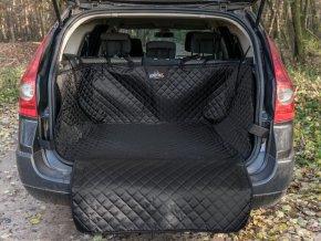 Ochranný potah kufru do auta - černý, max. rozměr 110 x 110 cm